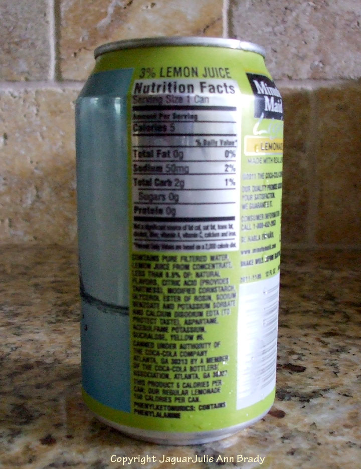 Perfect Minute Maid Light Lemonade Fruit Drink In 12 Ounce Can Gallery