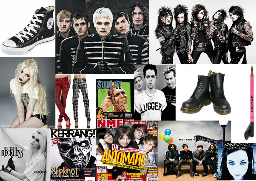 This is the front cover of the music magazine Kerrang  It follows the genres of rock emo screamo metal  etc  Kerrang  have included the important details of     Sam Jones Media Coursework Blog