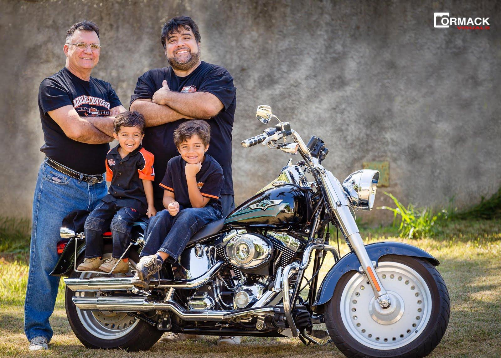 Família Roque, já na quarta geração de Harleyros