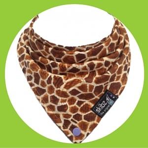 Skibz Funky Giraffe Bib Animal print