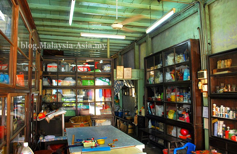 Malaysia old shophouses