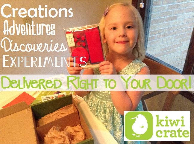 Kiwi Crate - Creations, Adventures, Discoveries, and Experiments Delivered Right to Your Door!