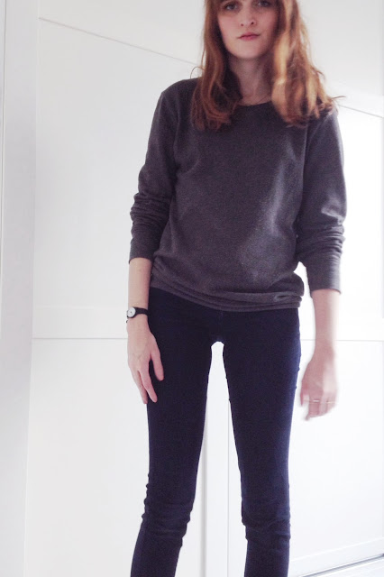 h&m grey sweat