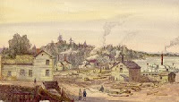 Lake Scugog 1853, by William Armstrong. Source: OurOntario.ca