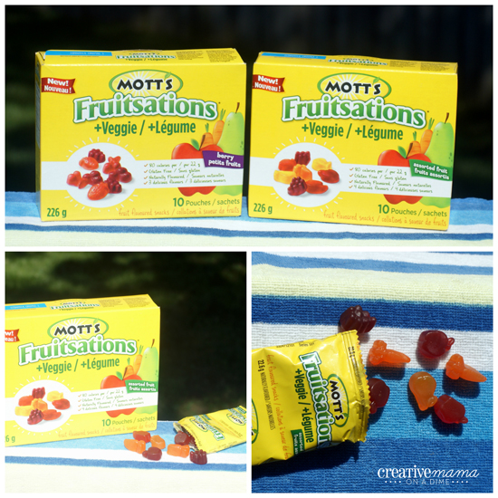 Mott's Fruitsation + Veggie - Lunch box snack for school & on the run