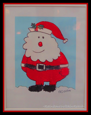 "photo of: Santa ""Cartoon"" via RainbowsWithinReach"