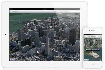 Apple's 3D Maps WWDC 2012