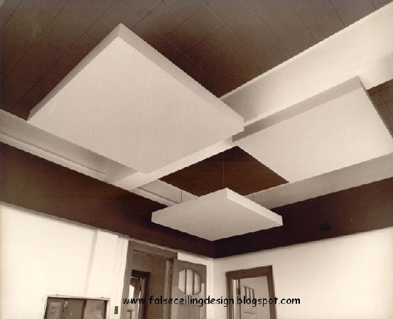 down model 3d free fall ceiling design