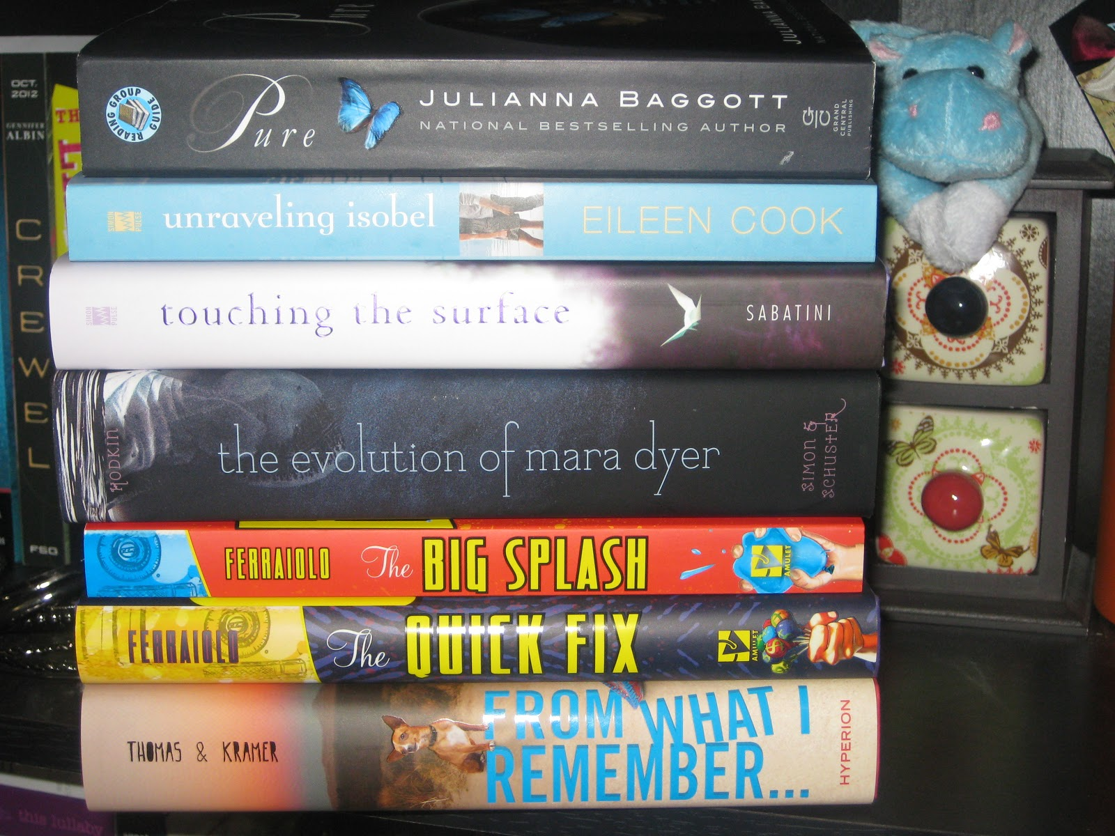 This Was A Pretty Awesome Week A Couple Of Highly Anticipated Titles Now  Live Happily On My Bookshelves! A Few Of Them I Was Lucky Enough To Find  Early,