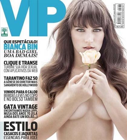 Revista Vip Bianca Bin Março 2013