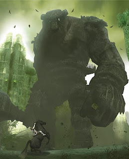 Shadow of the Colossus art desing