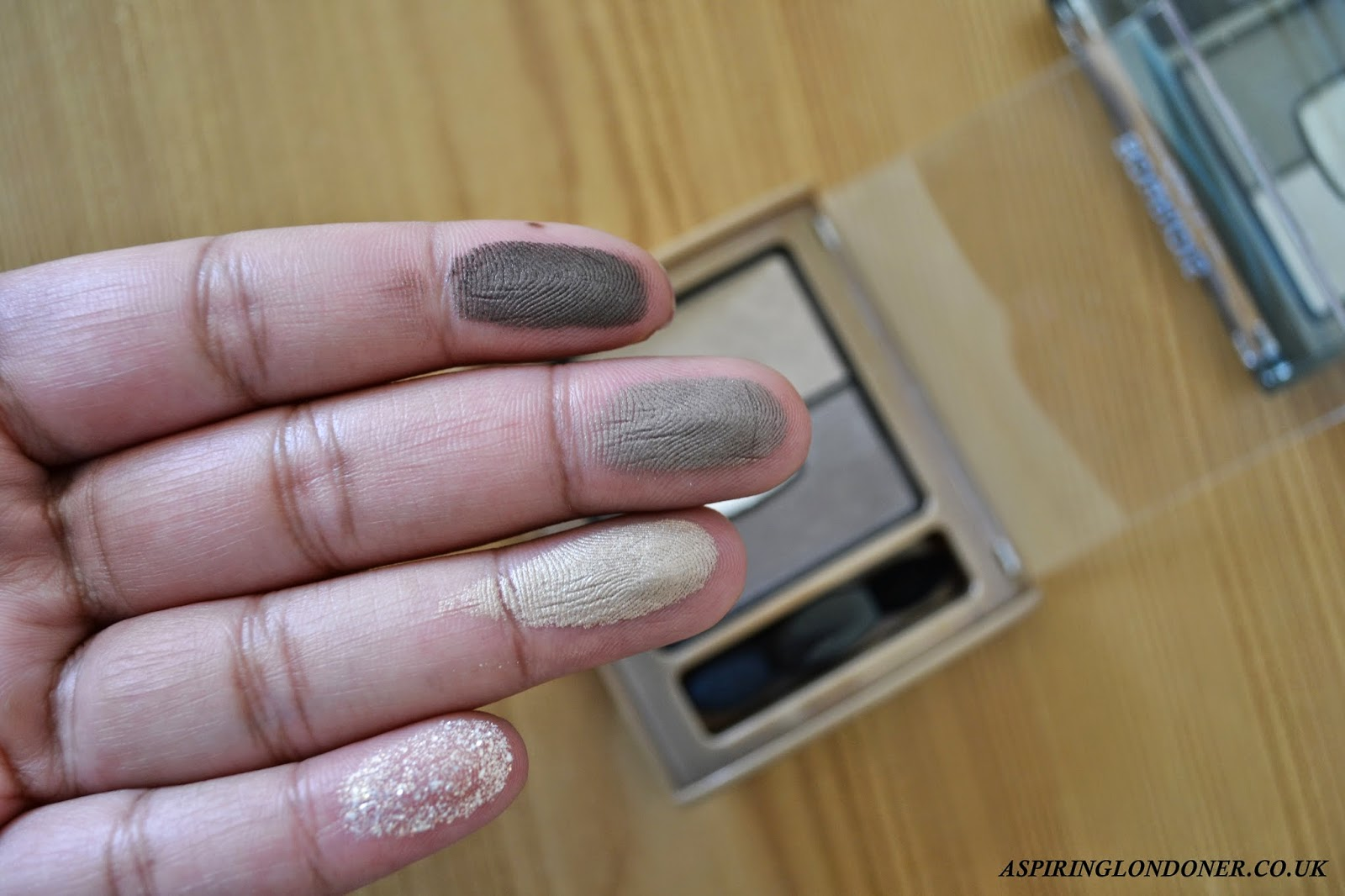 Bourjois Quad Smoky Stories Palette 04 Rock This Khaki Review Swatches - Aspiring Londoner