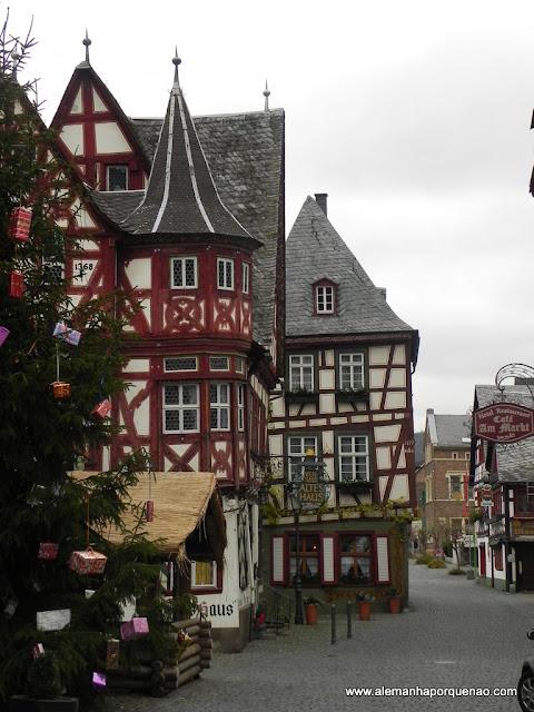A cidade medieval de Bacharach