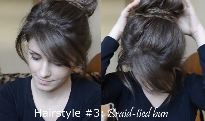 quick braided hairstyles : Cappuccino and Fashion: Hairstyling: 3 Easy & Quick Braided Hairstyles