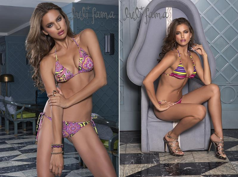 Irina Shayk Luli Fama Swimwear  Collection Photoshoot images