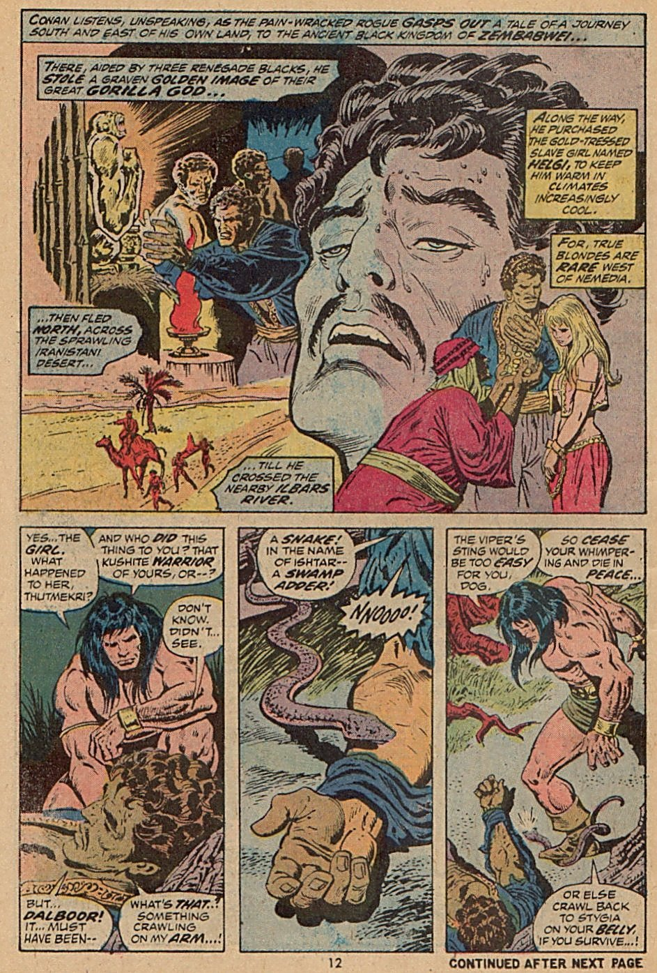 Conan the Barbarian (1970) Issue #28 #40 - English 10