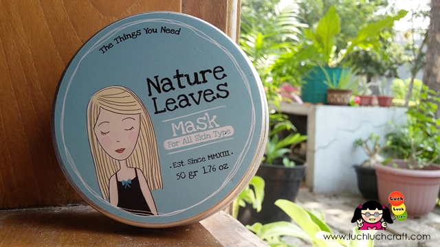 Beauty Review: Masker Nature Leaves