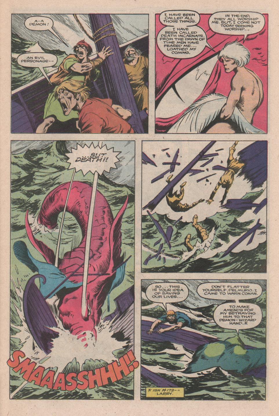 Conan the Barbarian (1970) Issue #177 #189 - English 8