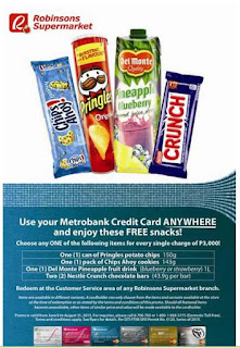 Metrobnak Credit Card Promo, sulitipid promo, Philippines promo and contest