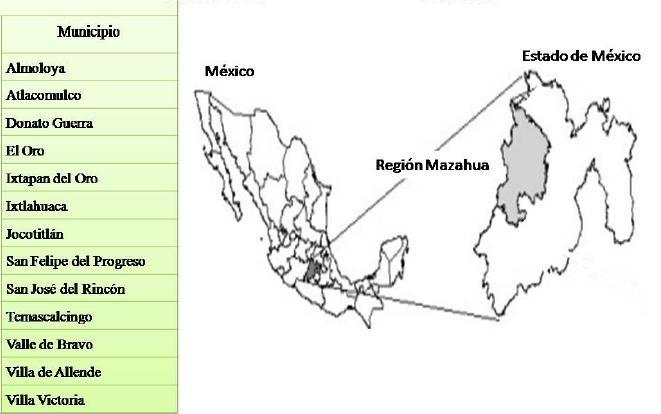 Cultura mazahua ubicaci n geografica for Banco santander mas cercano a mi ubicacion