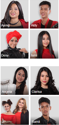 X factor indonesia 24 juli 2015