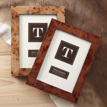 let them never forget you while at work with one of these burled wood frames with your photo in it available in 4x6 5x7 and 8x10 prices range from 25