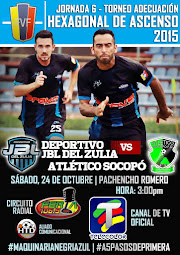 J6 Hexagonal: Empate 0-0 con Atlético Socopó
