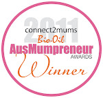 WINNER Best Product                AusMupreneur Awards 2011 People's Choice