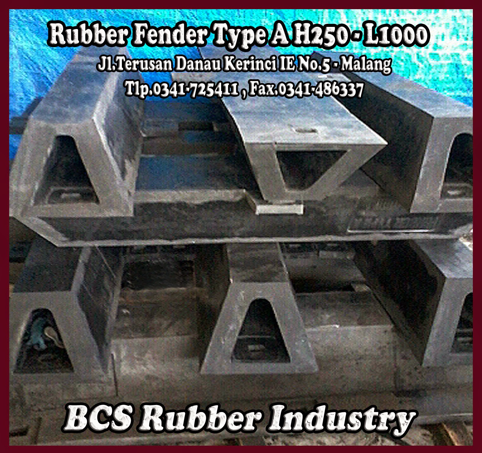 """Rubber Fender Type A """" Rubber Fender """" Rubber Fender A.BCS Rubber Industry"""
