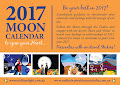 2017 Moon Calendar - Get in touch with the Moon we can be happier!