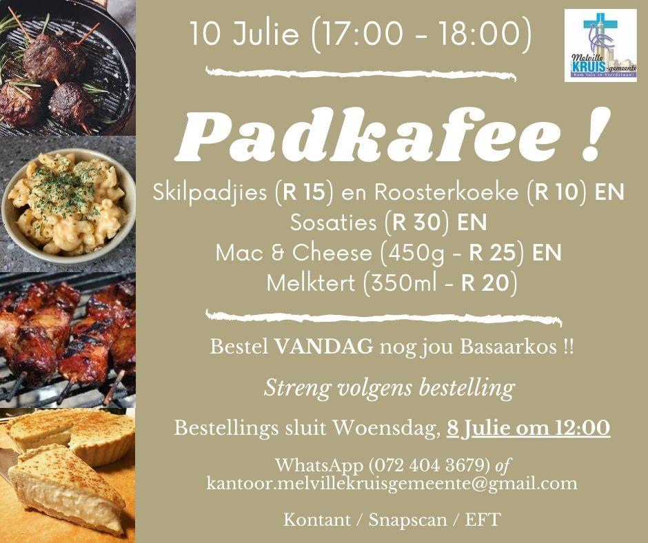 Padkafee 10 Julie