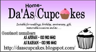da'AS cupcakes
