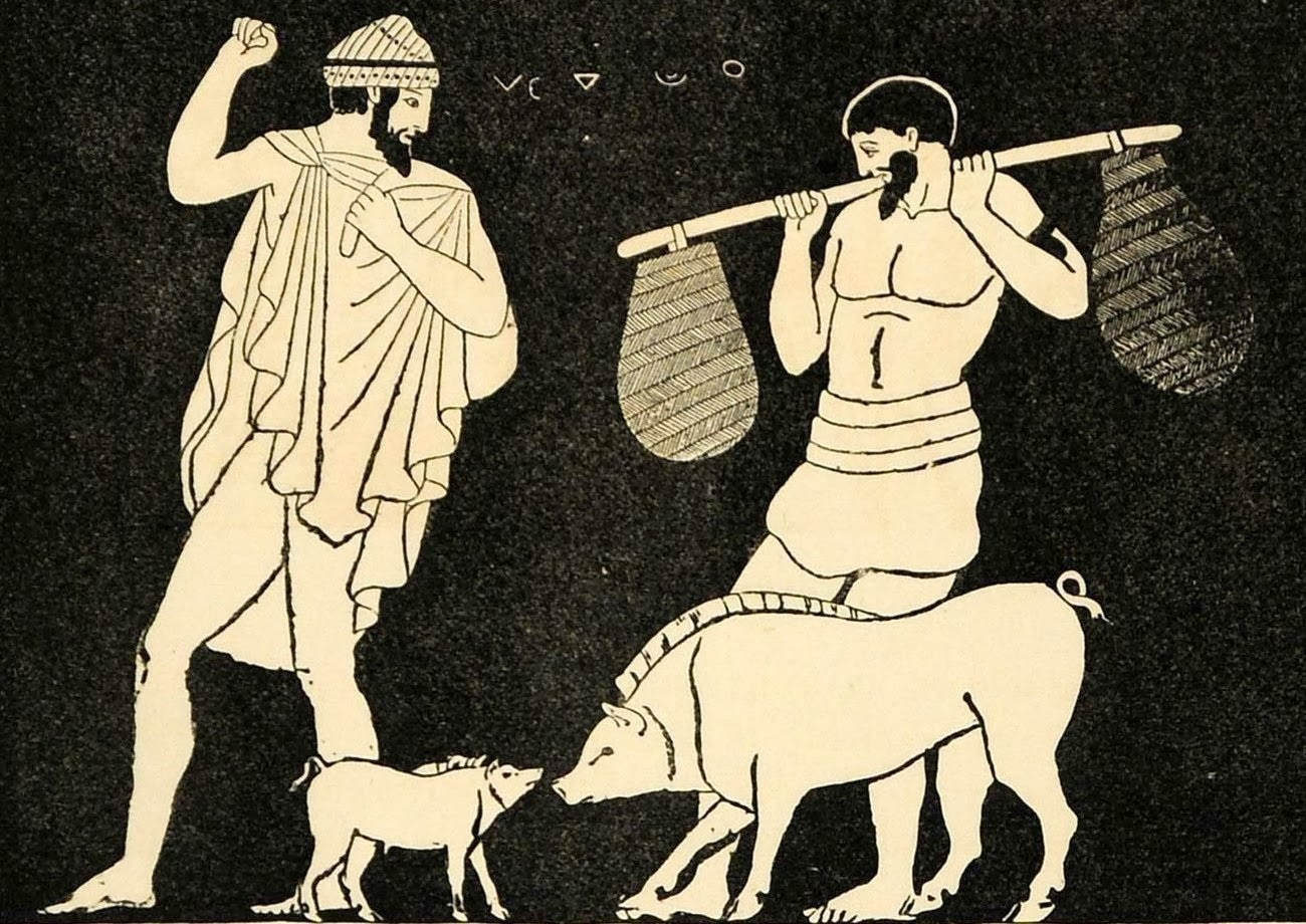 Ancient Greek Swine