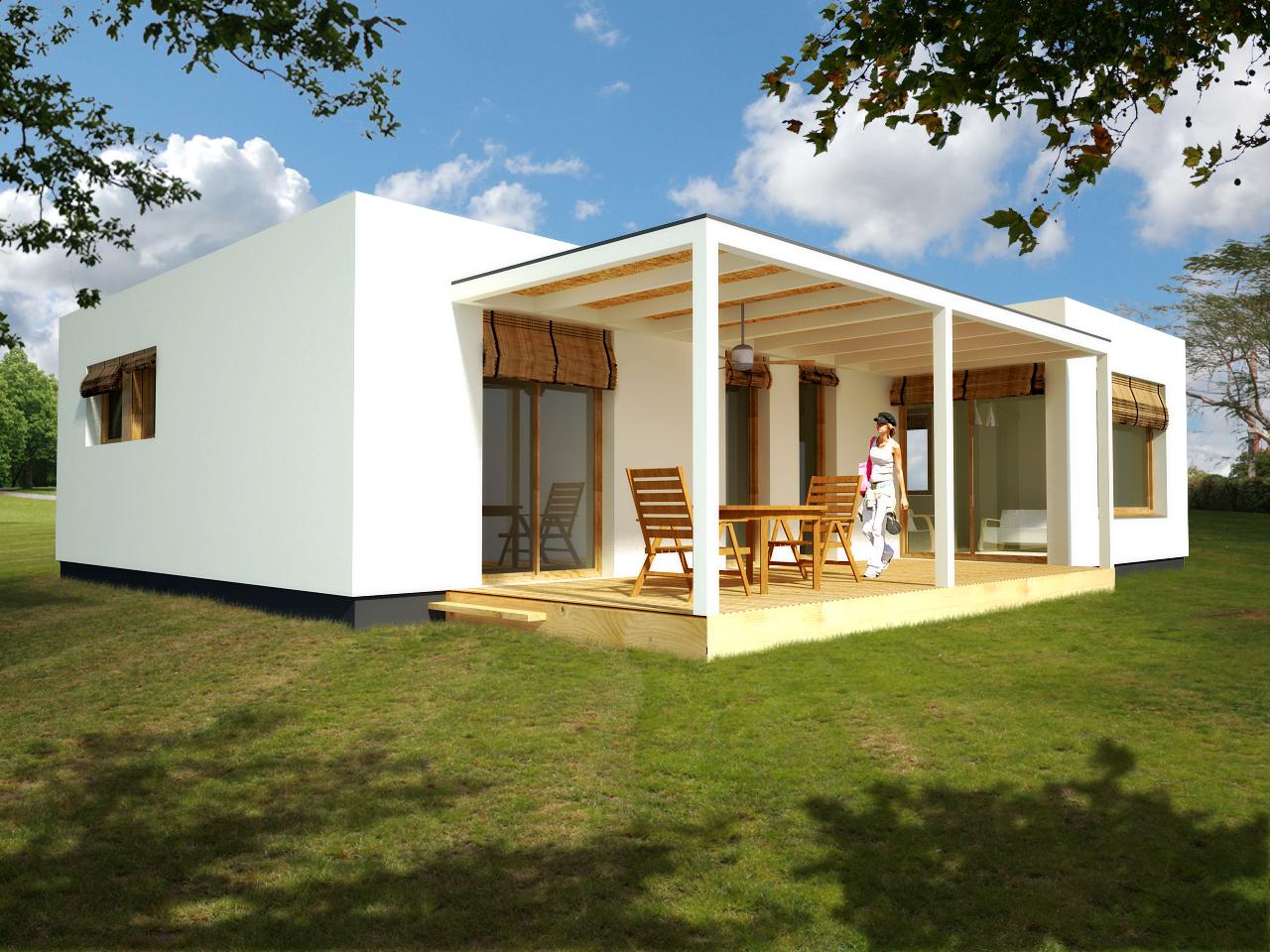 Casas modulares blochouse - Casas de hormigon prefabricadas de diseno ...