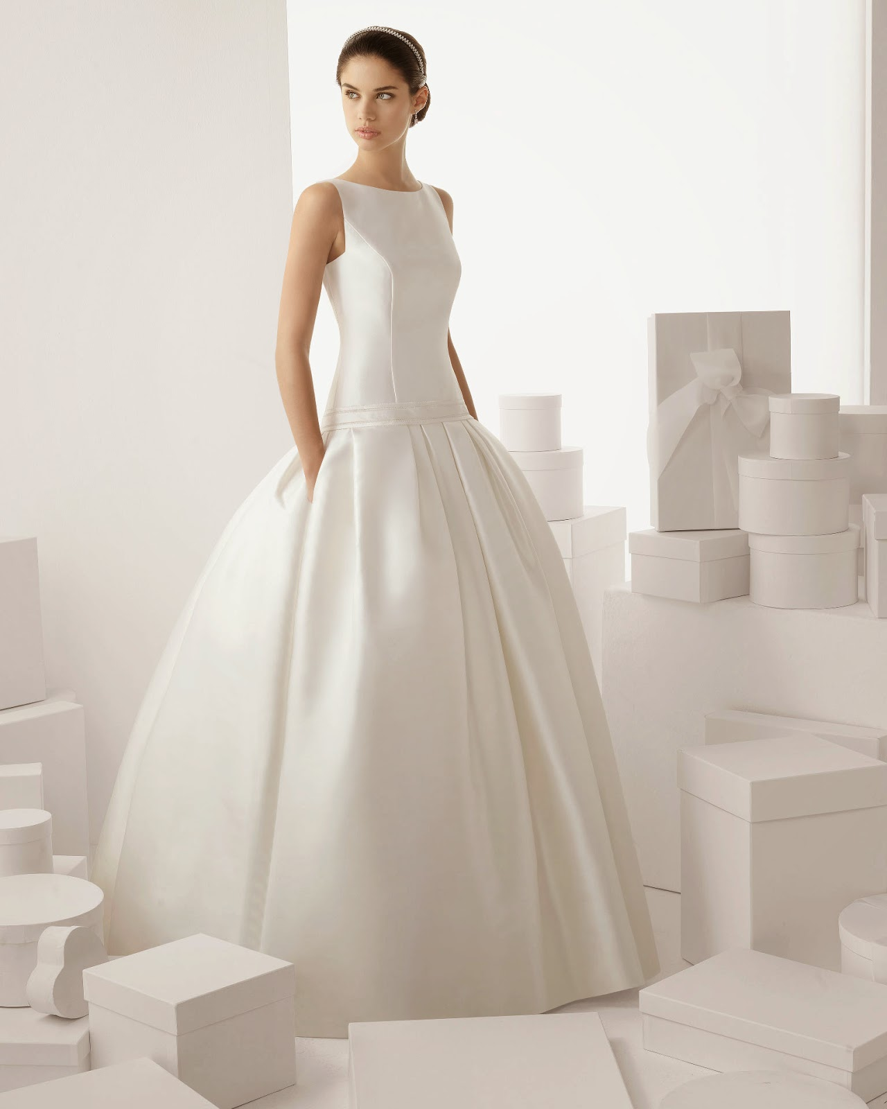 Feel Free to be You: Rosa Clara bridal dresses 2014
