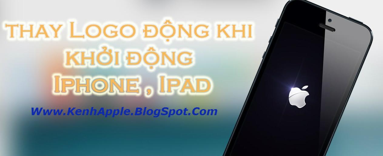 logo khoi dong iphone