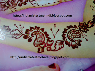 latest easy mehndi designs 2013 1