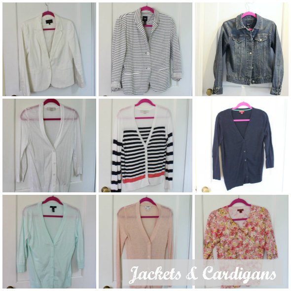 Spring Capsule Wardrobe Jackets and Cardigans | www.shealennon.com