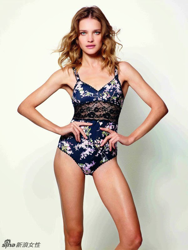 Russia super model hot lingerie photo lip lure