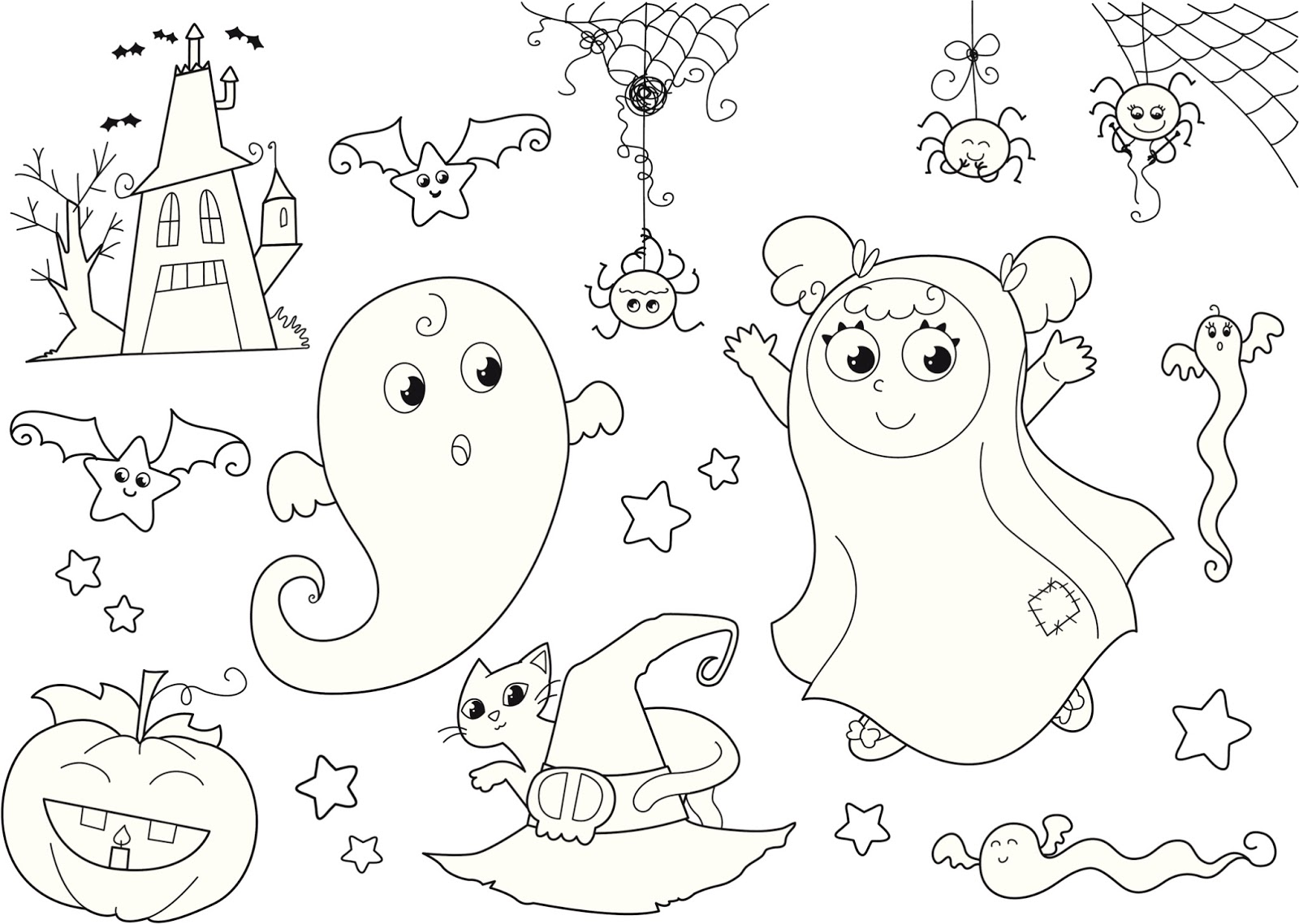 imageslist com halloween images to color 9