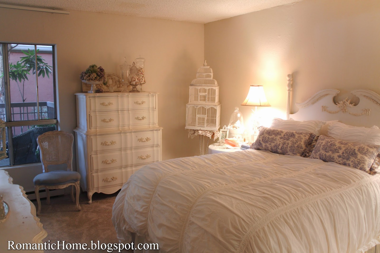 My Bedroom My Romantic Home The Bedroom Chair  Show And Tell Friday