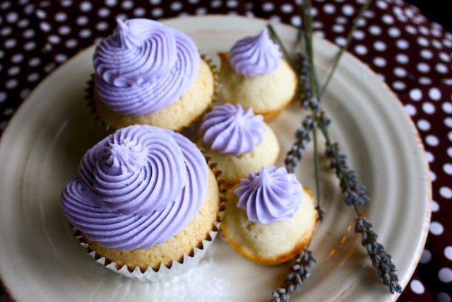 Lavender Butter Cream Frosting