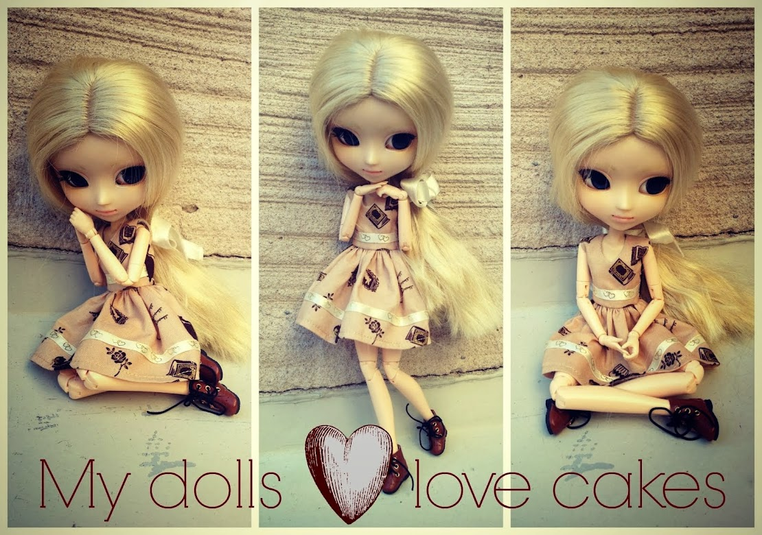 My dolls love cakes