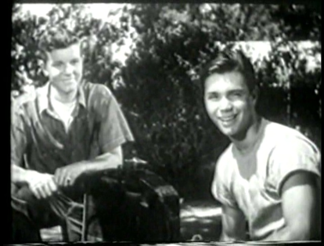 Robert Arthur and Darryl Hickman