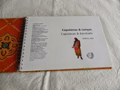 livro sobre capulanas