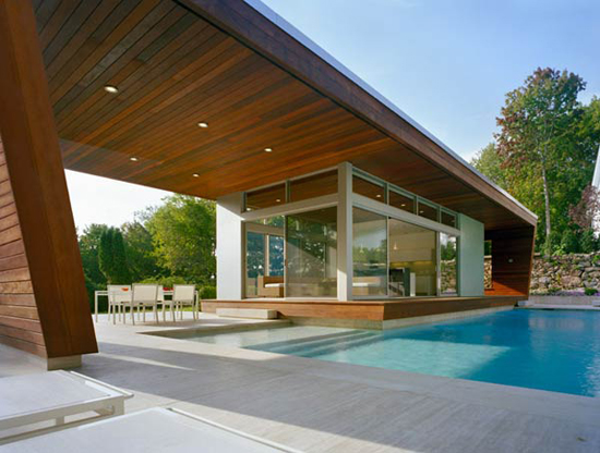 swimming pool house design idea