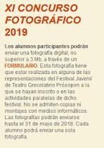 IX Concurso Fotográfico 2019