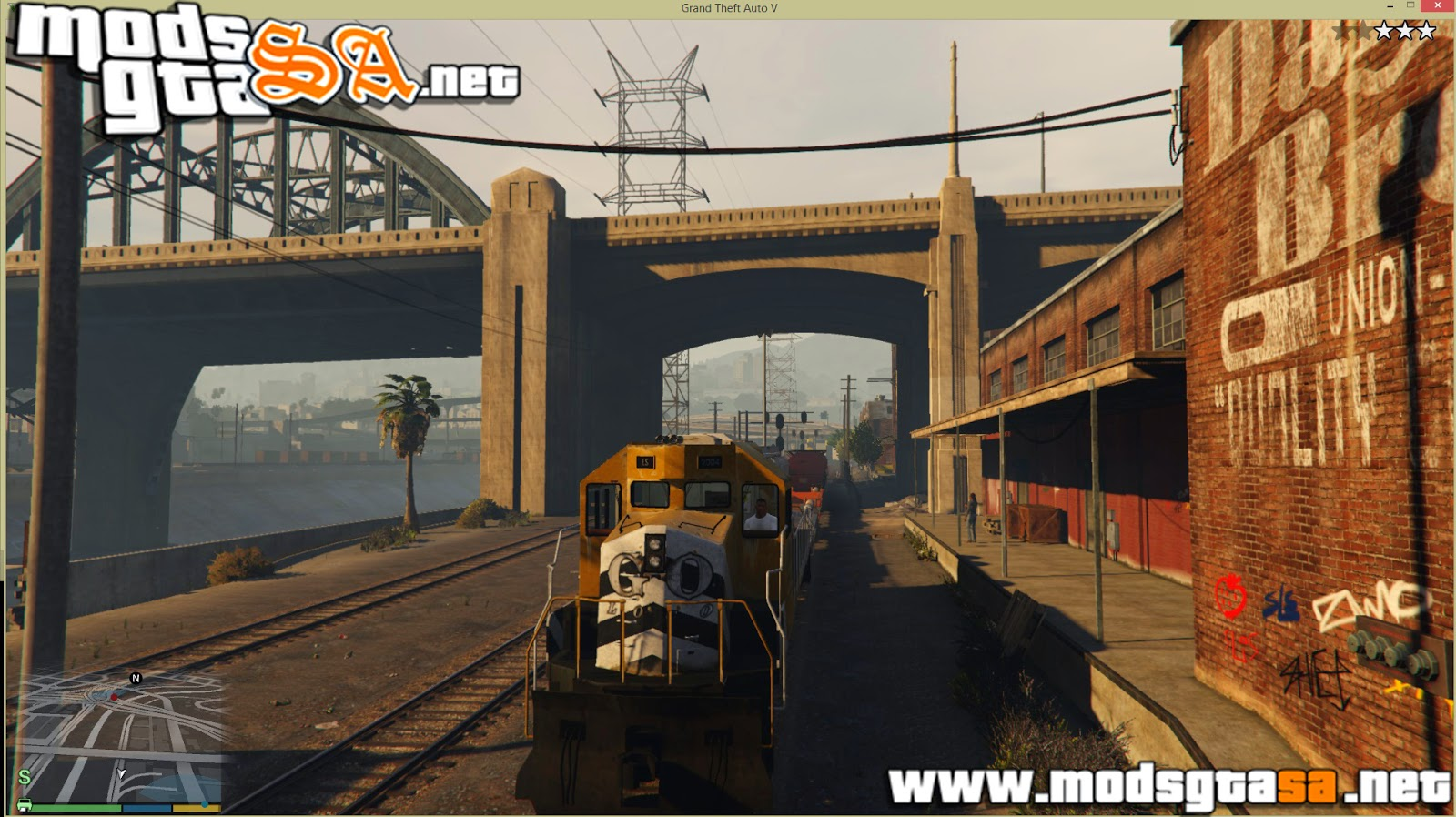 V - Mod Driver Train para GTA V PC