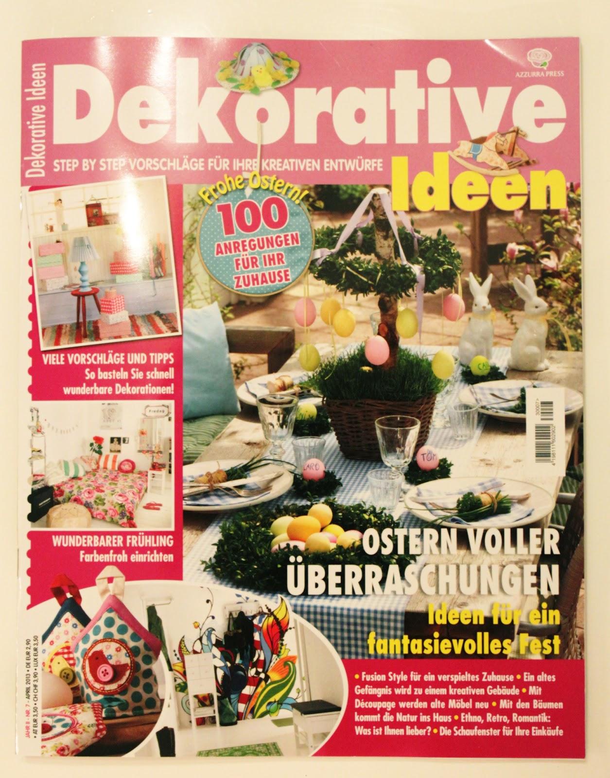 Deko Magazin tipp für deko diy zeitschrift do it yourself magazine