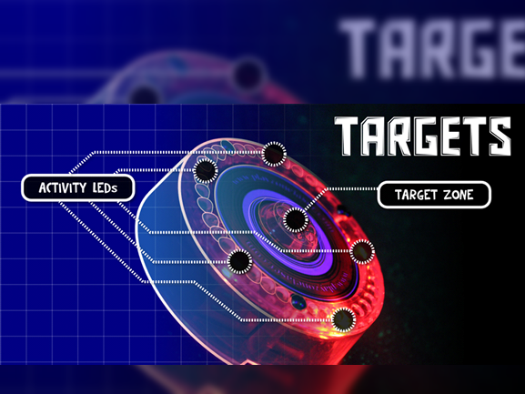Targets en Lasergame Ocio Alfafar